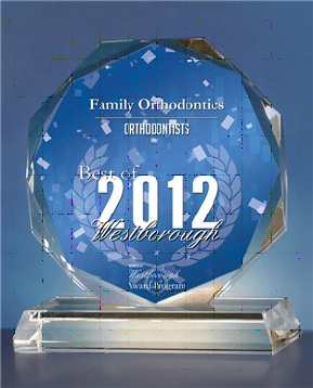 Family Orthodontics Receives 2012 Best of Westborough Award